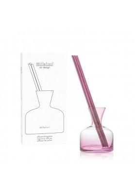 Ваза для жидкости с палочками розовая