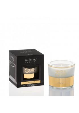 Золотой минерал ароматическая свеча